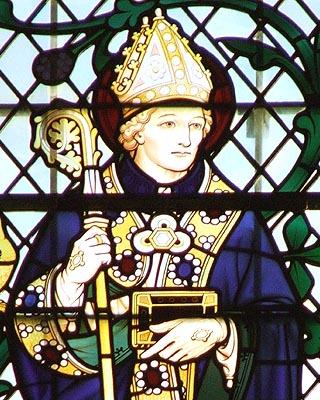 St. Egwin, Bishop of Worcester - © Nash Ford Publishing