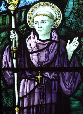 St. Cybi Felyn, Abbot of Caer Gybi - © Nash Ford Publishing