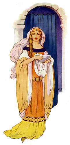 Queen Guinevere - this reproduction © Nash Ford Publishing