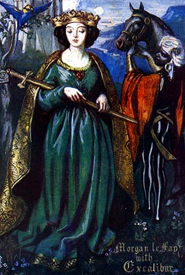EBK: Queen Morgan Le Fay of North Rheged